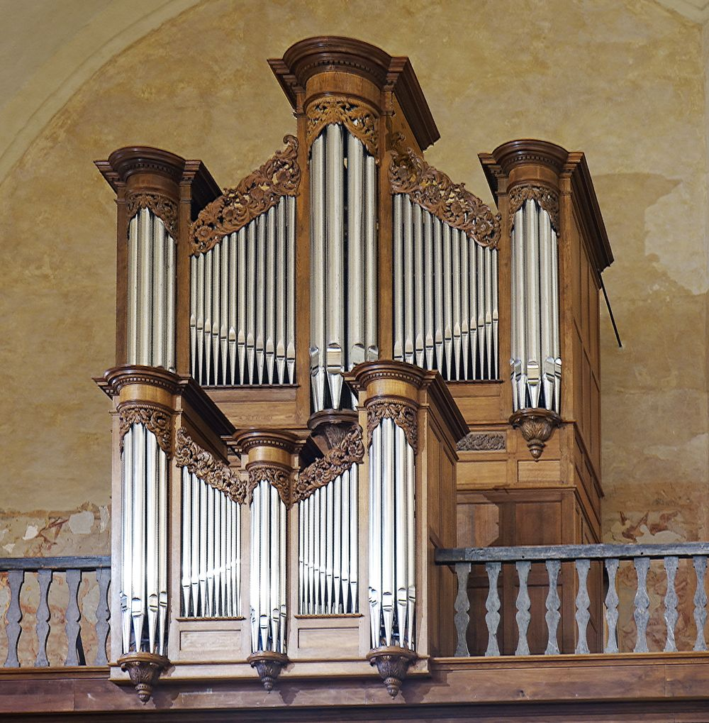 Orgue restauré red